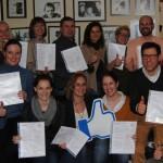 CCM Pilotgruppe von Bosch nach der Übergabe des Zertifikates
